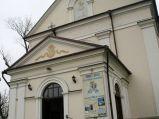 Wejście do kościoła OO. Bernardynów w Hrubieszowie