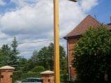 Krzyż przy kościele w Ciekocinie