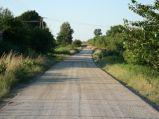 Droga na zalew na Majdanie Zahorodyńskim
