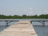 Pomost na Jeziorze Głębokim