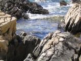 Skały przy plaży w Primosten