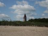 Plaża we Władysławowie, widok na Urząd Miejski we Władysławowie