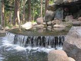 Park Skaryszewski, Wodospad w Warszawie