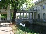 Łazienki, Pałac na Wodzie