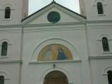 Fasada Kościół św. Anny w Borzechowie