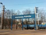 Tablica, Stacja Warszawa Powiśle