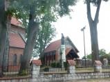 Otoczenie kościoła w Osieku