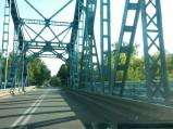 Koniec mostu w Nowym Dworze Mazowieckim
