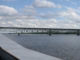 Most im. Legionów Piłsudskiego, widok z Molo