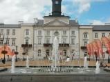 Fontanna na Starym rynku w Płocku