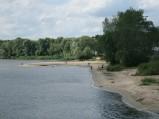 Plaża nad Wisłą w Płocku