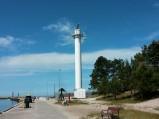 Wieża radarowa w porcie Łebie