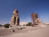 Kolosy Memnona w Luksorze