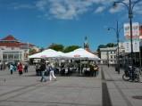 Parasole i ogródki na Placu Zdrojowym