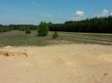 Piaskowe pola w Dębinkach