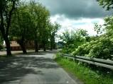 Droga przy kościele Łebuni