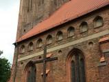 Wieża kościóła św. Jakuba w Lęborku
