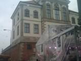 Muzeum Fryderyka Chopina, widok z ulicy Tamka