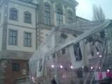 Muzeum Fryderyka Chopina i scena z dnia otwarcia przy ulicy Tamka