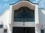 Fasada Kościóła p.w. Przenajświętszej Trójcy