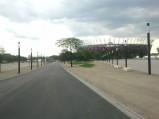 Droga od strony ulicy Grochowskiej