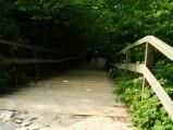 Schody na plażę w Jastrzębiej Górze