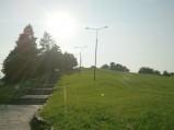 Górka Moczydłowska, schody na szczyt