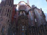 Sagrada Familia, boczna fasada