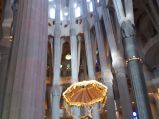Ołtarz w Sagrada Familia