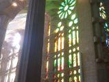 Witraż w Sagrada Familia