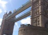 Tower Bridge, górne pomosty