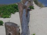 Wejście na plażę w Piaskach