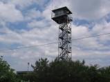 Plaża w Piaskach, wieża obserwacyjna