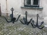 Kotwice w klasztorze w Czerwińsku