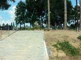 Wejście na cmentarz w Tuczępach