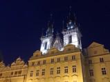 Kościół Marii Panny nocą