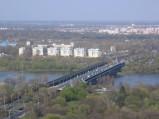 Most Gdański w Warszawie, widok z Budynku Intraco