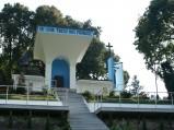 Ołtarz na wzgórzu przy placu Maryjnym w Wąwolnicy