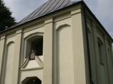 Dzwonnica, brama w Sawinie