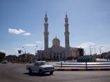 Meczet w Hurghadzie, widok z przed ronda