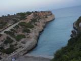 Zatoczka Antena w Cales de Mallorca