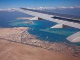 Fragment wybrzeża w Hurghadzie