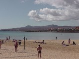 Boisko do siatkówki w Caleta de Fuste