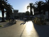 Zamek w Trogirze, widok od strony promenady