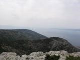 Vidova Góra, widok na Brać i morze