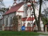 Elewacja kościół w Świerżach