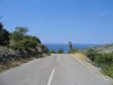 Droga na wzgórze przy Grebasticy