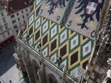 Dach katedry św. Szczepana w Wiedniu