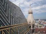 Katedra św. Szczepana w Wiedniu, dach