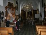 Wnętrze kościoła parafialnego pw. św. Michała Archanioła